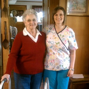Faith and April Butler, RN, Nurse at All Care Home Health in Danville, VA