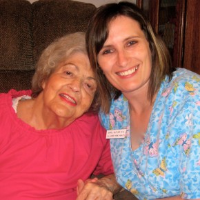 Ida and April Butler, RN, Nurse at All Care Home Health