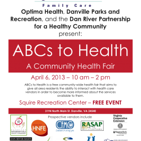 ABCs to Health 2013 Flyer