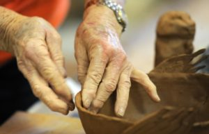 Sculpting Pottery