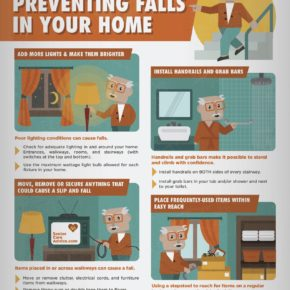 Home safety tips to prevent falls in your home